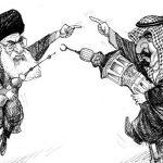 عربستان و ایران. علیه هم، دو رهبر اسلامی.