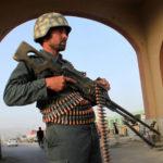 یک مأمور امنیتی افغانستان ـ عکس از آرشیو