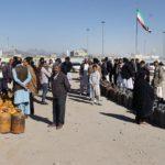 صف دریافت گاز در بلوچستان