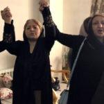 مادران عزادار کشتهشدگان تظاهرات اعتراضی آبان ۱۳۹۸: شهناز اکملی مادر مصطفی کریم بیگی و ناهید شیربیشه مادر پویا بختیاری و شهین مهینفیر مادر امیرپویا تاجمیر