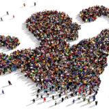 جامعه همچون پیکری مردانه - تصویر از Shutterstock