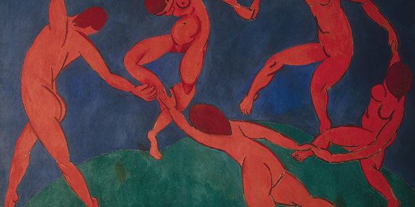هانری ماتیس، رقص (۱۹۱۰)، منبع: ویکیپدیا