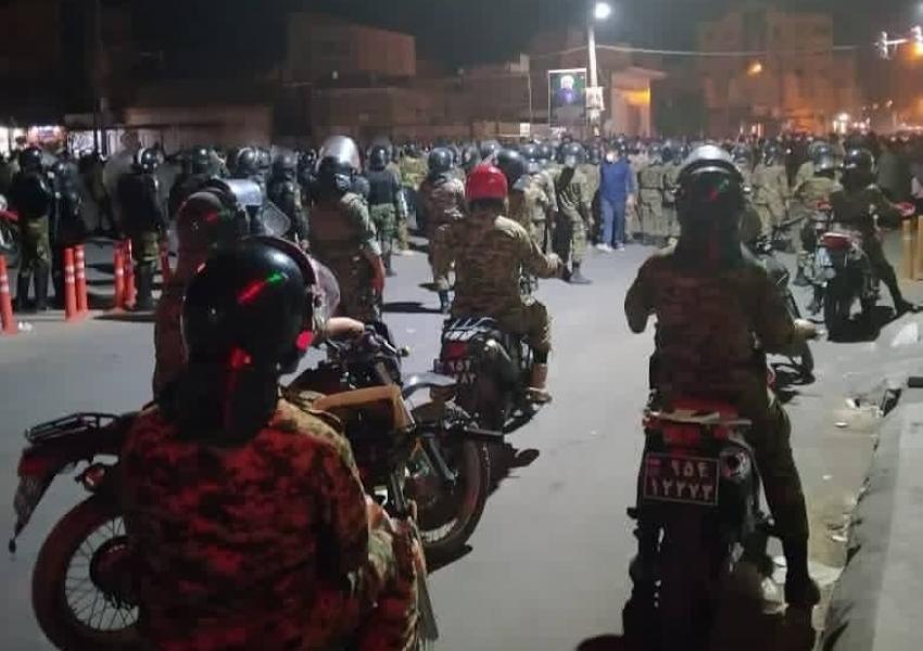 سناریوی حکومت ایران برای سرکوب در خوزستان: « ۱۹ مامور امنیتی در جریان  اعتراضات کشته و مجروح شدند»، از رادیو زمانه