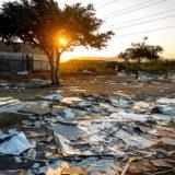 دوربان، آفریقای جنوبی، ۱۴ ژوئیه ۲۰۲۱. آثار خشونت و غارت. عکس از shutterstock