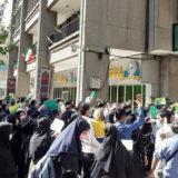 روز شنبه ۲۷شهریور ۱۴۰۰، تظاهرات کارنامه سبزها مقابل ساختمان وزارت آموزش و پرورش