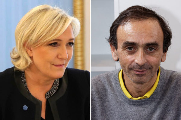 اریک زمور و مارین لو پن − دو چهره راست افراطی فرانسه